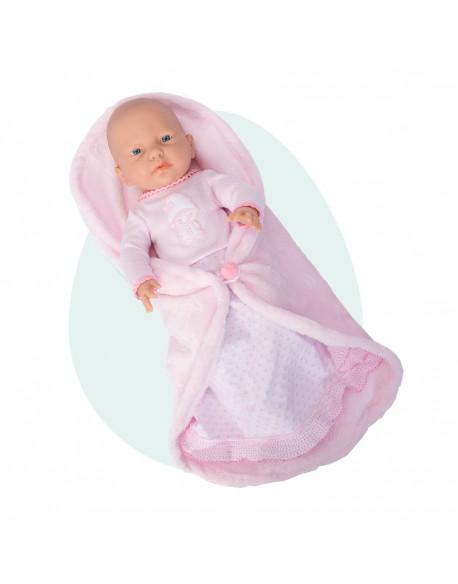 Rn new born baby niña manta cambiador