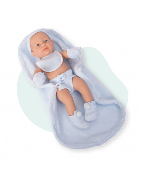Rn new born baby niño babero manta