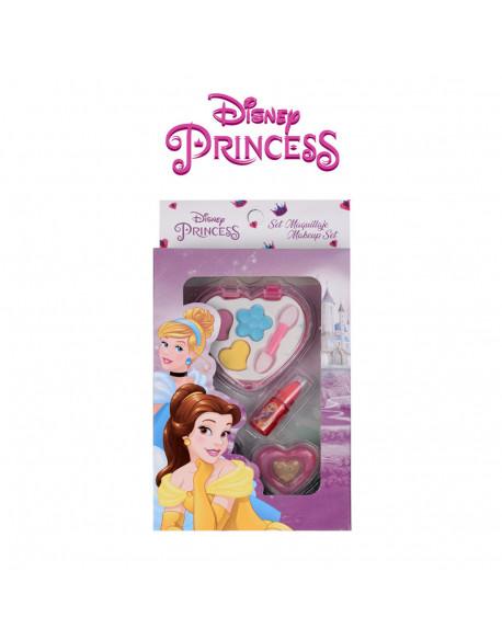 20987-kit cosmética 4 pzs corazón princesas