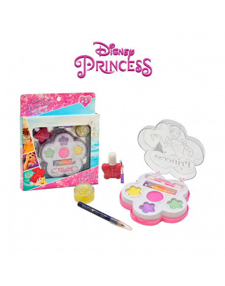 Kit cosmética 6 pzs princesas