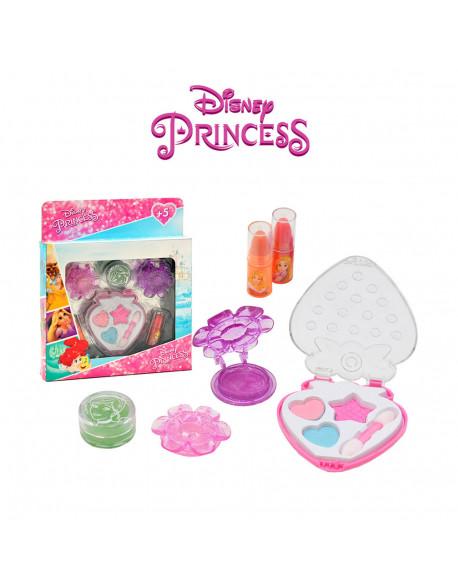 Kit cosmética mediano 6 pzs princesas