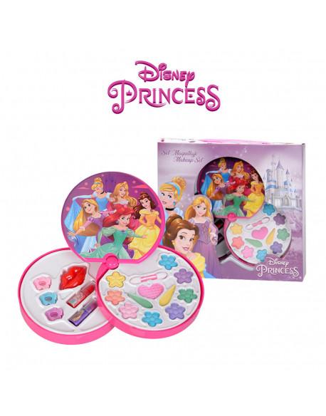 20984-kit cosmética redondo princesas