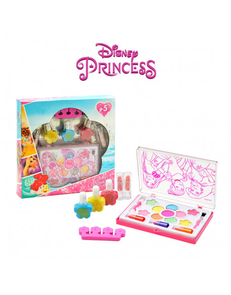 20986-kit cosmética corona princesas