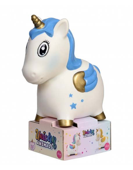 Hucha unicornio grande