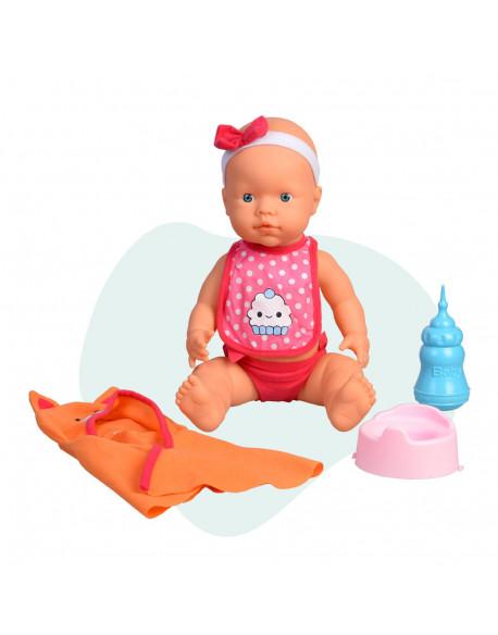 Curiosete muñeco con albornoz